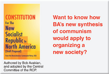 Want to how BA's new synthesis of communism would apply to organizing a new society?