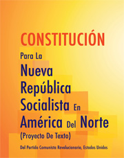 Constitutions for the New Socialist Repubilc in North America (Draft Proposal)