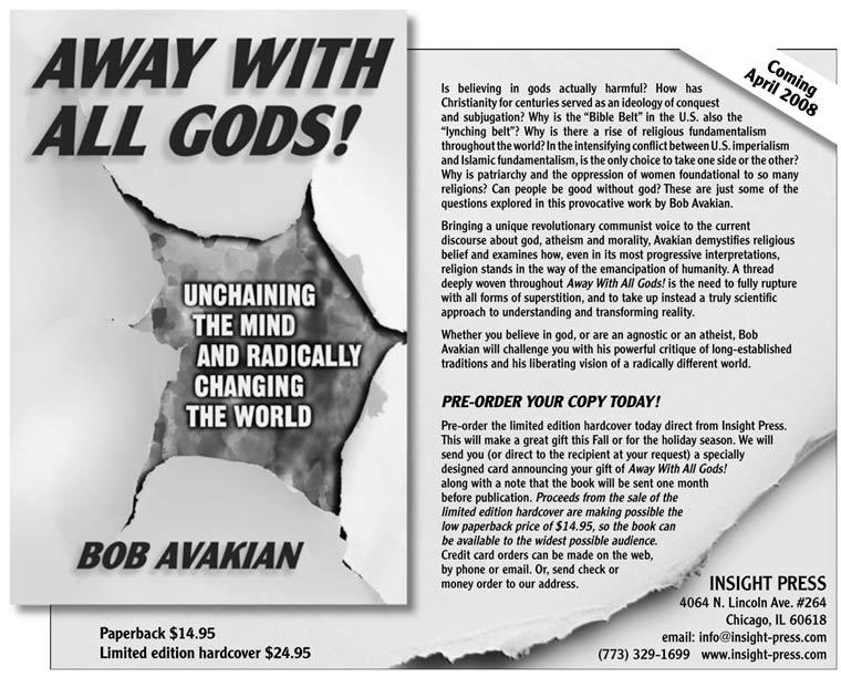 Excerpt from AWAY WITH ALL GODS! Unchaining the Mind and ...