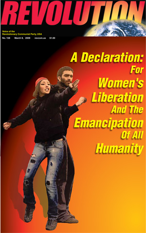 A DECLARATION: FOR WOMEN'S LIBERATION AND THE EMANCIPATION OF ALL HUMANITY