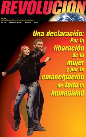 Una declaración: Por la liberación  de la mujer y por la emancipación  de toda la humanidad