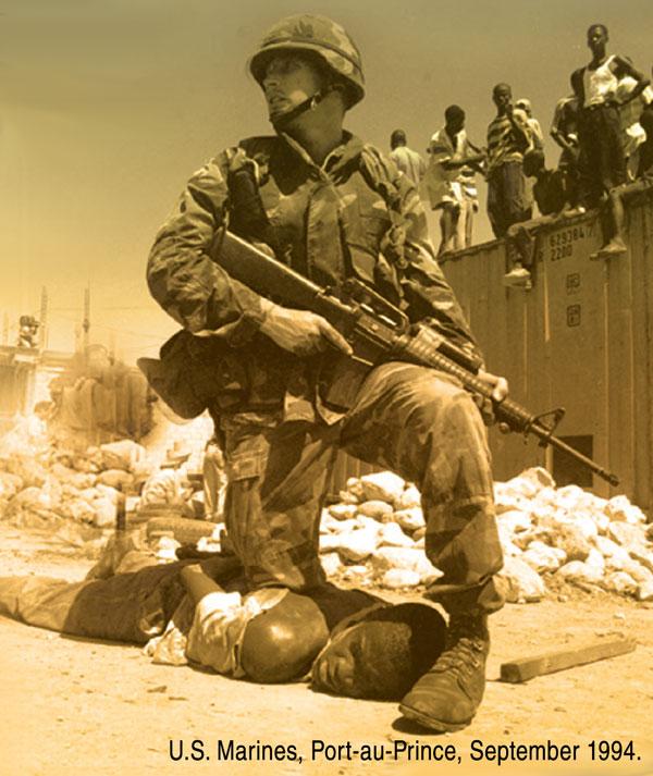US Marines, Port-au-Prince, September 1994
