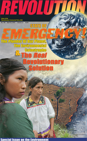 Special Issue of Revolution on the Environmental Emergency