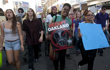 Oakland Occupy General Strike November 2, 2011