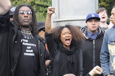New York City October 22 National Day of Protest Against Police Brutality and the Criminalization of a Generation