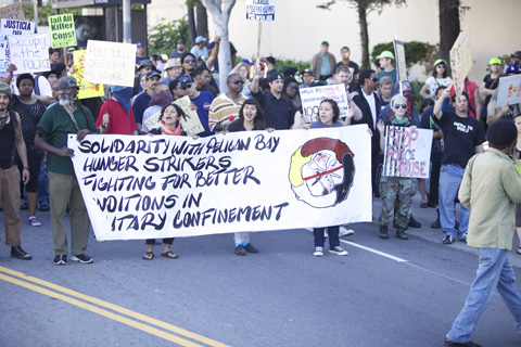 Los Angeles October 22 National Day of Protest Against Police Brutality and the Criminalization of a Generation