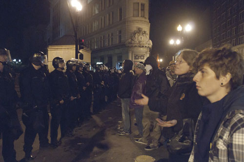 November 14, 2011, Police Attack Occupy Oakland