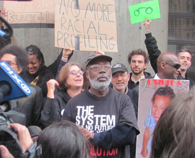 Carl Dix Refutes Charges the Protesters in Ferguson are