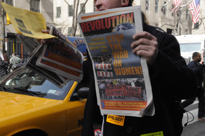 NYC Revolution Newspaper
