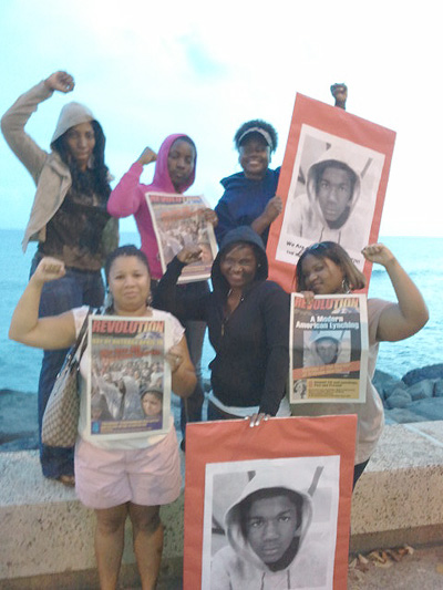 Hawaii Vigil for Trayvon Martin
