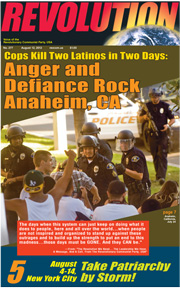 Revolution #277, August 12, 2012 - front page