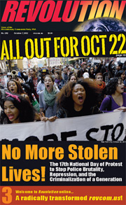 Revolution #282, October 7, 2012 - front page