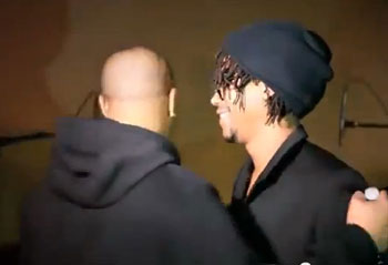 Lupe Fiasco escorted off stage