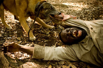 Django Unchained Dog Scene