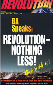 Revolution #298, March 17, 2013 - front page