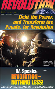 Revolution #299, March 31, 2013 - front page