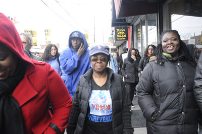 Protest against the police murder of Kimani Gray, March 24, 2013