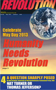 Revolution #302, May 1, 2013 - front page
