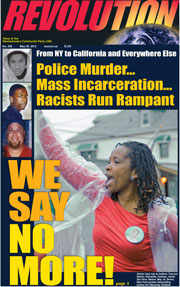 Revolution #305, May 26, 2013 - front page
