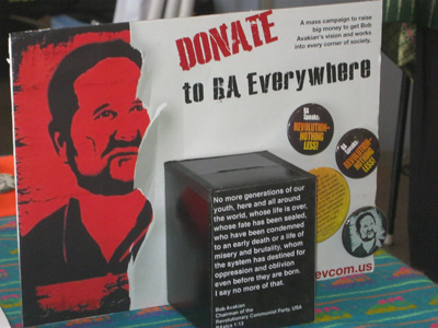 Donation Box made by Supporter