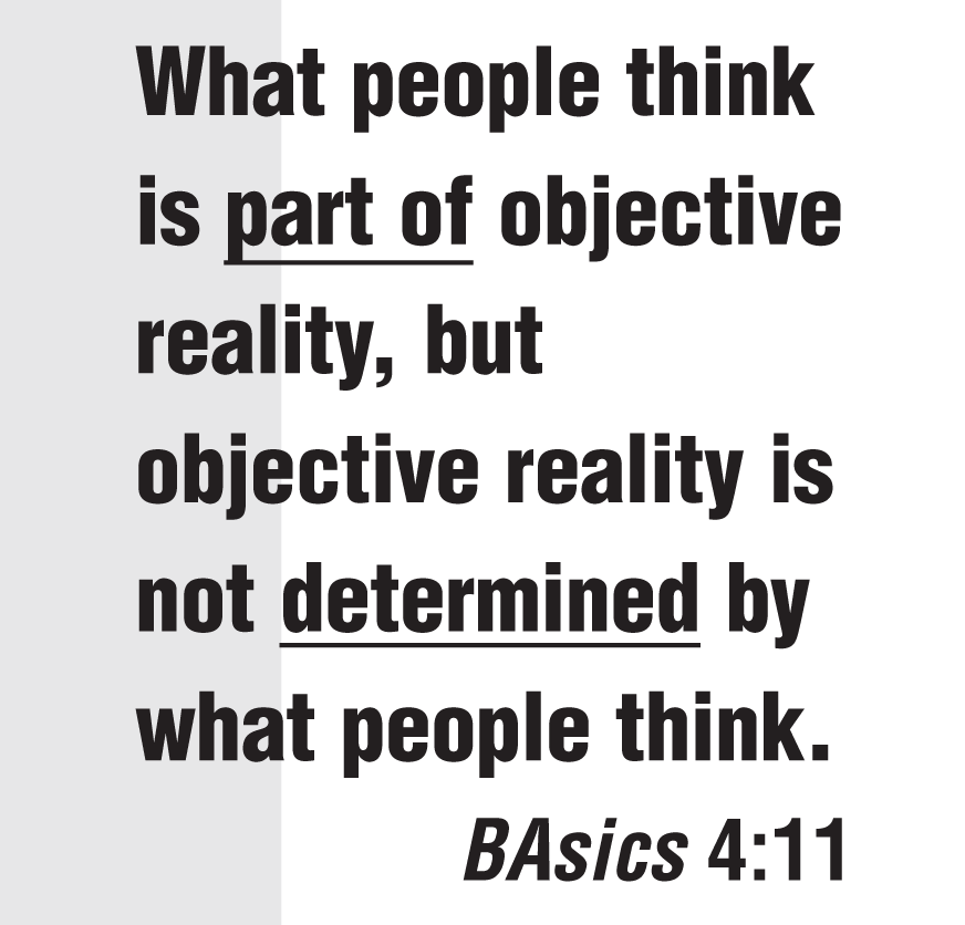 how reality determines the truth essay Perception vs reality  your belief structure determines your perception which then ultimately determines how you respond to  reality is truth ,.