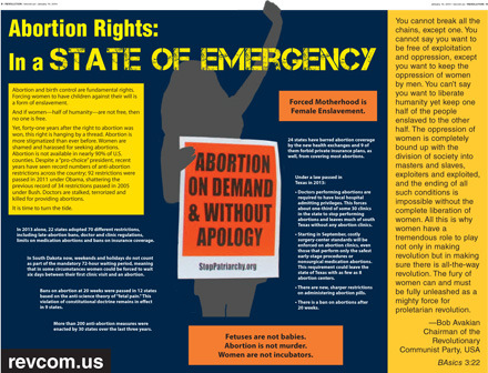 Abortion Rights: In a State of Emergency
