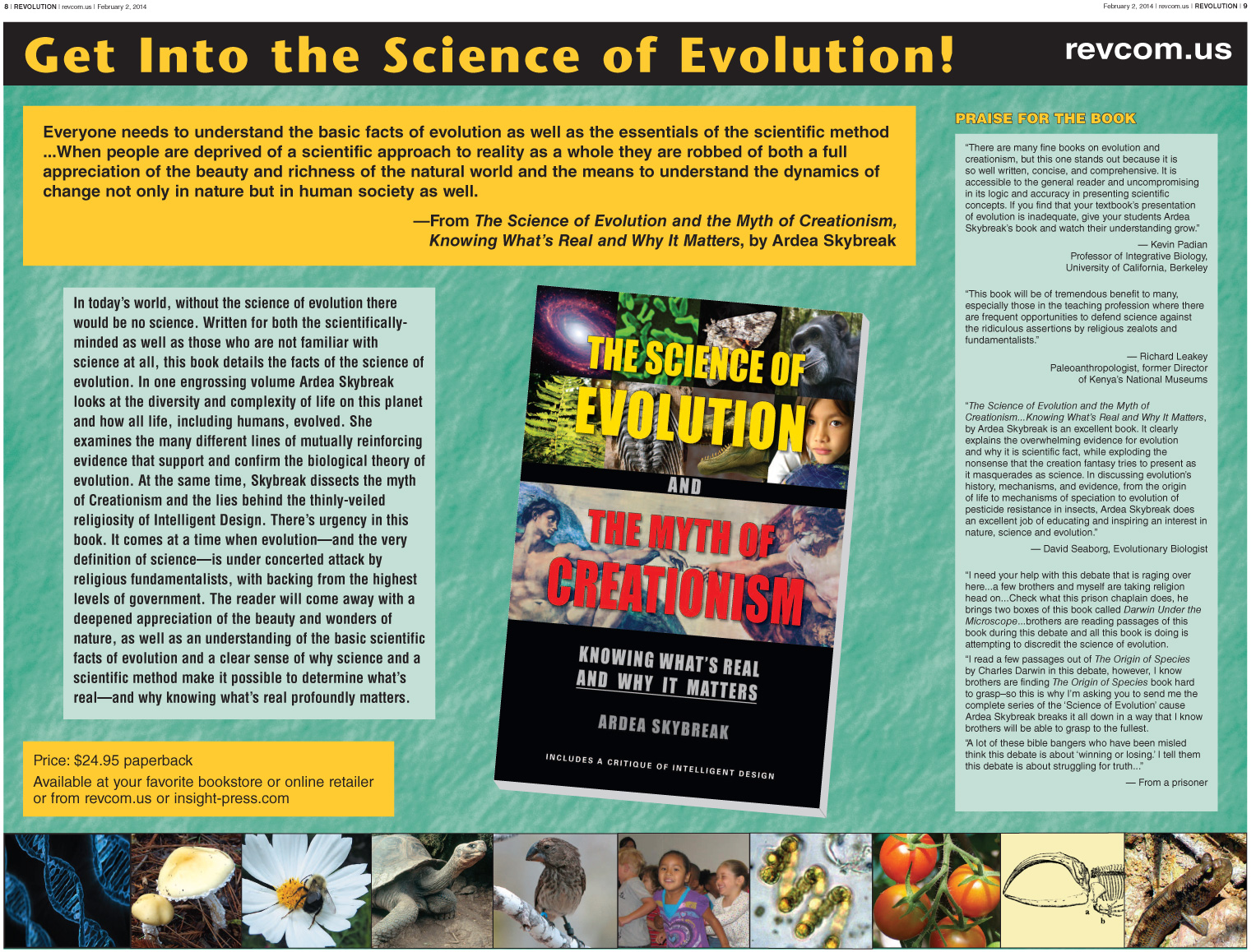 understanding the concept of creationism and evolution Evolution and the bible  the standard concept of evolution involves the so that the re-creation concept involves the creator in re-creating.