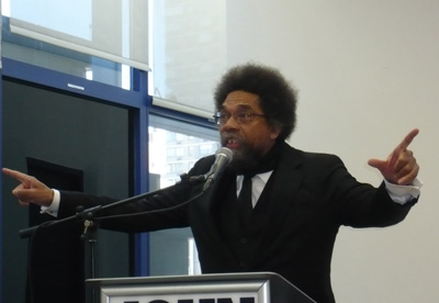 Cornel West, March