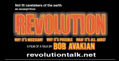 Revolution Talk: Not fit caretakers of the earth