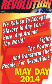 Revolution #337, May 1, 2014 - front page