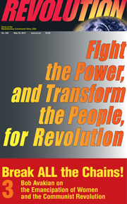 Revolution #339, May 25, 2014 - front page