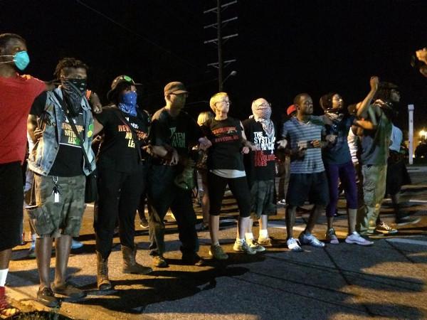 Ferguson, August 13. Photo: Jon Swaine