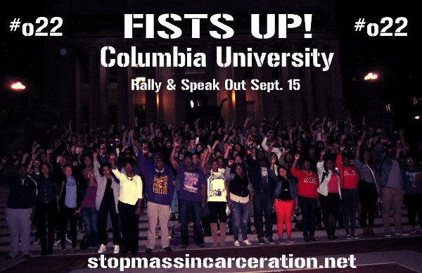 Fists Up! at Columbia University