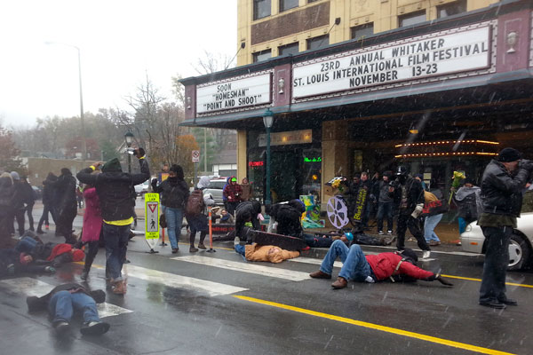 St. Louis die-in