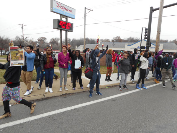 December 2 Ferguson High School Walkout