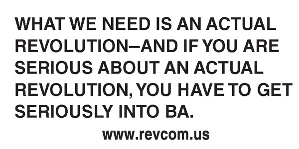 What we need is an actual revolution...