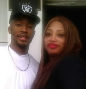 Carlton Wayne Smith with his mother, Kathey Kelley, two days before he was killed by a cop in Texas City on December 26
