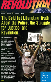 Revolution #370, January 19, 2015 - front page