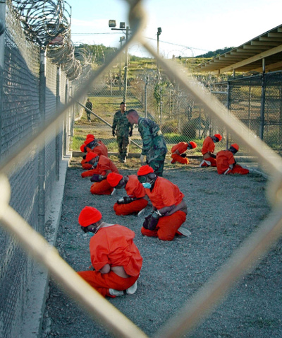 U.S. prisoners at Guantanamo