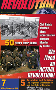 Revolution #376, March 2, 2015 - front page