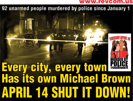 Every city, every town, has its own Michael Brown