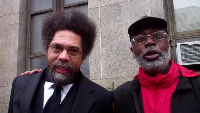 Cornel West and Carl Dix