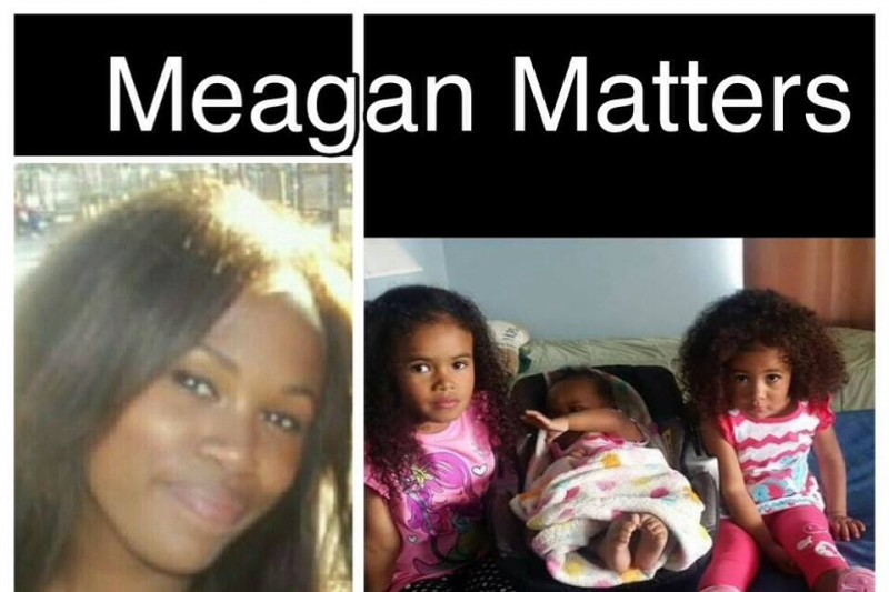 Graphic of Meagan Hockaday and her three daughters