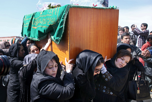 Farkhunda's funeral, March 22.