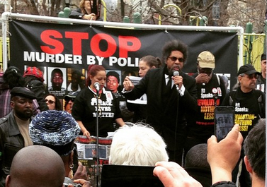 Cornel West at Union Square
