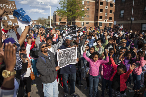 Image result for freddie gray protest baltimore