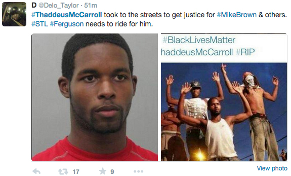 Thaddeus McCarroll murdered by St. Louis police