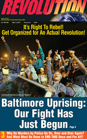 Revolution #385, May 4, 2015 - front page