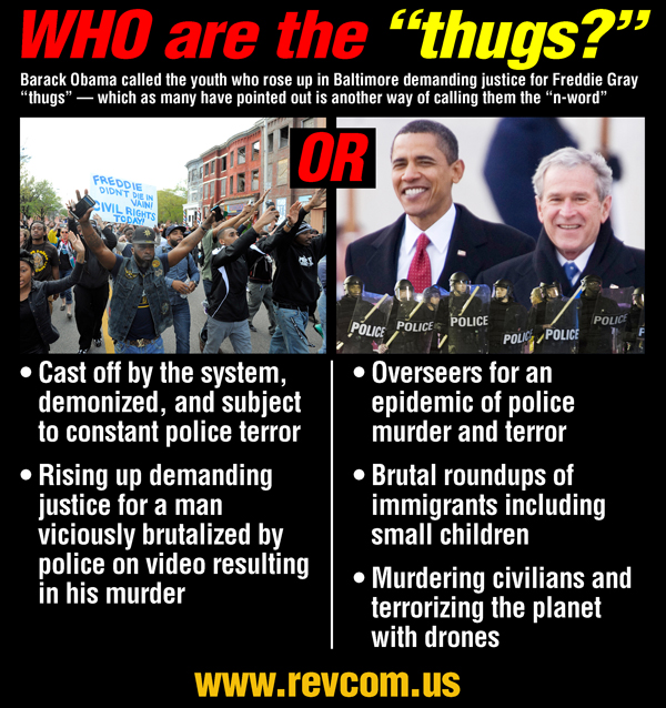 Who Are the Thugs?