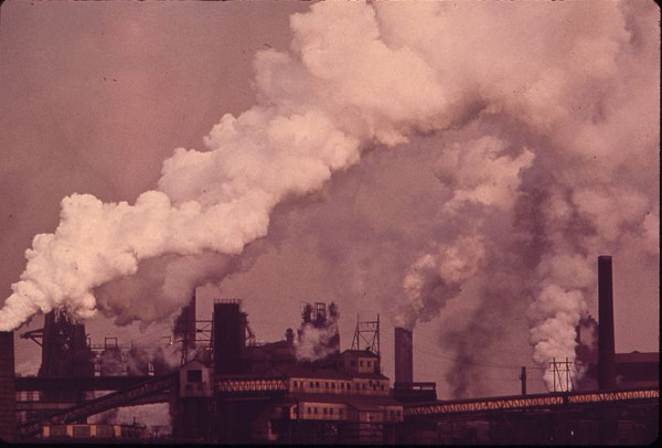 Sparrows Point steel plant, 1973
